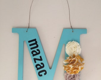 Family initial wall / door hanging