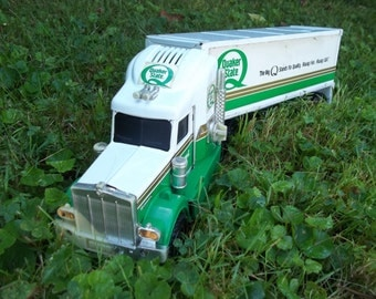Buddy L Quaker State Oil Toy Semi Truck 1992 SLM Inc