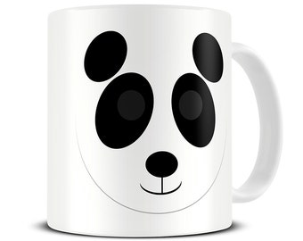 Personalized Cute Cartoon Panda Mug - girlfriend gift - gift for her - panda gifts - custom message - personalised mug MG 488