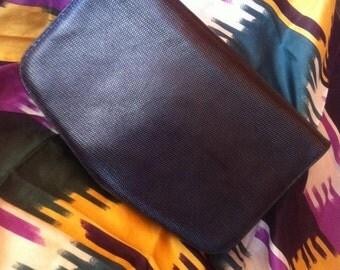 Black bag leather Giorgio Armani