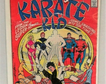 1976 Karate Kid #1  First Issue From The Legion OF Super-Heroes Good Condition Vintage DC Comic Book