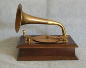 Music Box and Jewelry Box - Old Phonograph Style