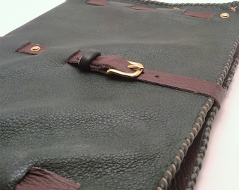 Leather Composition Book Cover