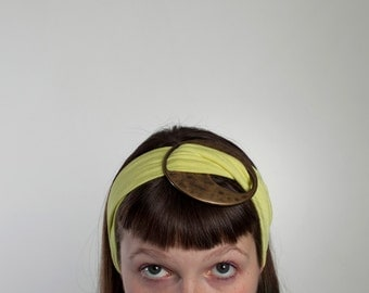 Hair bands with Central buckle