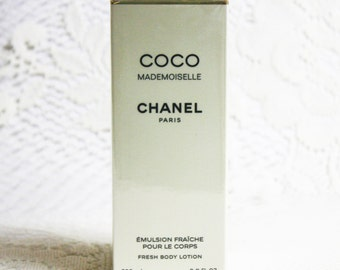 Coco Mademoiselle Body Lotion, Chanel Coco Mademoiselle Body Lotion, Chanel Perfumes, Chanel Fragrances, Chanel Body Lotions, Classic Chanel