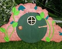 fairy door, Baggins door, hobbit door, hobbit house, fairy house, whimical, whimsy, fairy garden, fairy, gnome house, fairy miniature