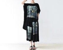Womens Summer Loose Fitting Cotton Casual Two Pieces Set Blouses And Loose Pants, Summer Cotton Casual Tops And Loose Pants With Pockets