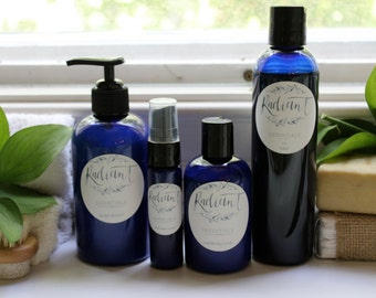 Non Toxic, natural Skin Care Set made with pure Essential Oils