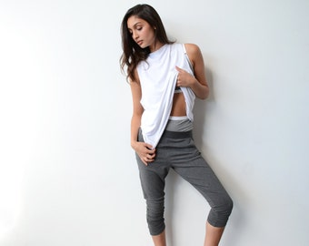 Lux Lounge Pant in Grey