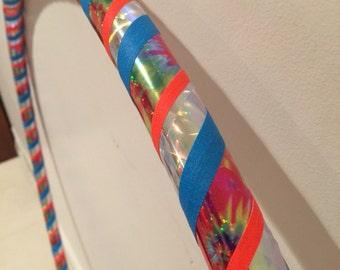 Tie Dye Metallic Hula Hoop