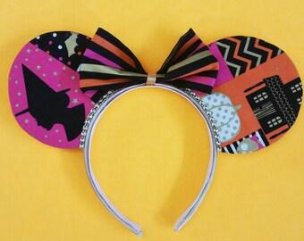 Halloween | Mouse Ears | Halloween Mouse Ears | Disney | Mickey Ears | Minnie Ears | Disney Ears | Halloween Ears | Minnie Ears | Disneyland