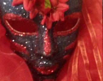 custom fairy/deity mask