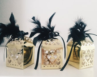 Great Gatsby Themed Organic Sugar Scrub Party Favors