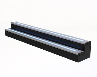 Premium 7ft, 2 Step Light Shelf Tier