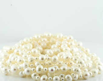 Authentic Na Hoku 8ft Strand Of Lustrous Pearls
