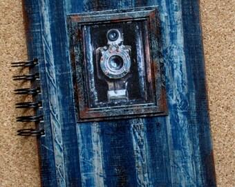 Spiral notebook,A5 spiral notebook,Handmade notebook,Notebook,Gift for her,Gift for woman