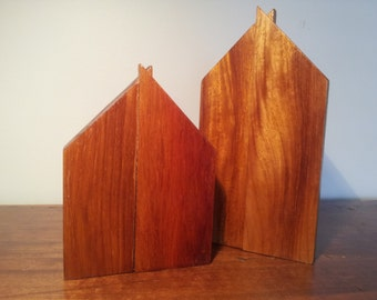 American Redwood House Ornaments
