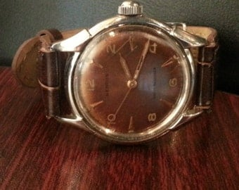 Benrus early 1950's vintage wrist watch