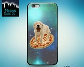 Puppy on Pizza in Space Dog Galaxy Awesome Case for iPhone 6S iPhone 6S Plus iPhone 6 iPhone 6 Plus iPhone 5S iPhone 5 iPhone 5C iPhone SE