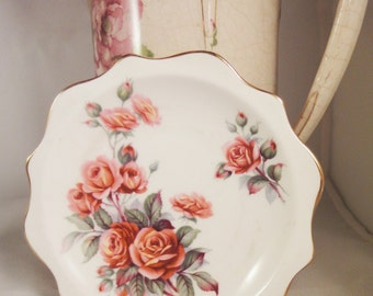 "Royal Albert ""Centennial Rose"" Trinket Pin Dish"