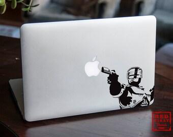 Robocop Macbook decal / Macbook sticker / Laptop decal / Robocop Sticker