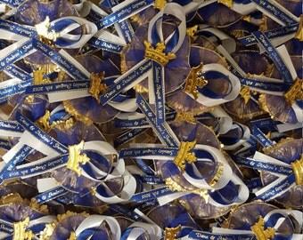 Royal Prince Organza Capia Pins *******Min Order of 25 Pins*******