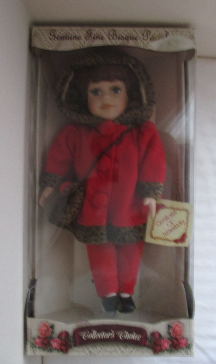 Collectors Choice Fine Bisque Porcelain Doll Limited Edition