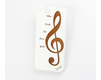 White Music iPhone 7 case, iphone 6s case iphone 6 case iphone 5 case iphone 6s plus case iphone 6 plus case