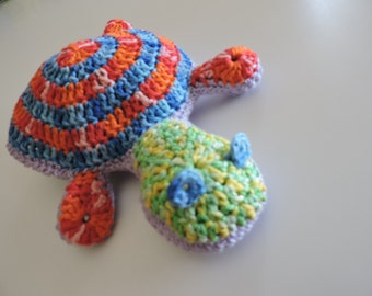 Turtle multicolour cotton home decoration