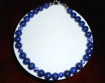Necklace Lapis-Lazuli, Lapis-Lazuli, necklaces, necklace for women, youth Collar