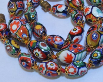 Gorgeous millefiori necklace