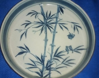 Bamboo Vintage Plate