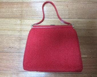 1950s / 1960s Red handbag