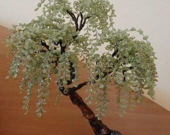 Bonsai Beaded Tree Sculpture