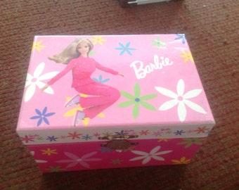 60s vintage retro Barbie music box, Feelin Groovy