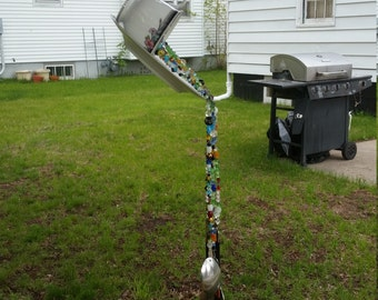 Glass Wind Chimes, Silverware Windchimes