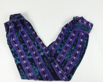 Aztec Beautiful high waisted boho festival trousers