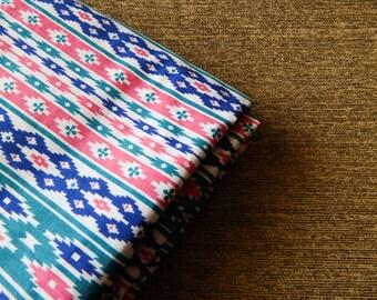 1 yard of Aztec Print Fabric, Aztec Fabric, Indian Cotton Fabric, Indian Fabric, White Fabric