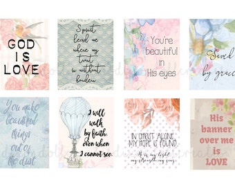 faith planner stickers - ERIN CONDREN planner stickers - bible journaling - bible planner stickers - inspirational - life planner - SET J