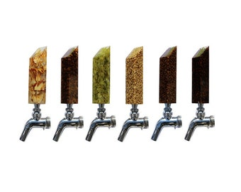 The Complete Kegerator Tap Handle Set