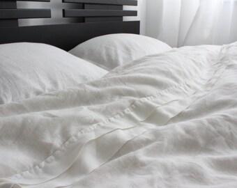 Ecofriendly 100% linen duvet cover | duvet king size | duvet queen size | duvet full size | duvet twin size | duvet cover custom size