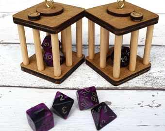 Dice Dungeon, Dungeons & Dragons, RPG, Pathfinder, Dice Punisher, DnD Dice, Geek Gift, Board Game Gift, Dice, Rpg Gift, Dice Box, Gamer Gift