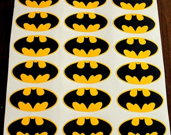 32 Batman Logo Batman Vinyl sticker decal Batman Wall Decal Batman Birthday Party Batman wallpaper  Batman Nursery Batman waterbottle