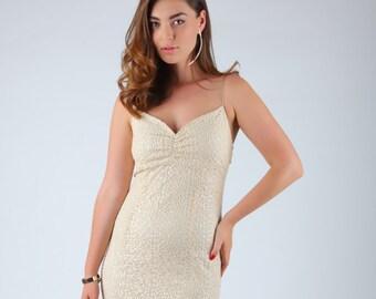 short prom dress bridal shower dress mini sequin dress sparkle ivory mini dress