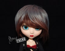 Pullip Wig - wig Pullip - Two Colours - Fake Fur
