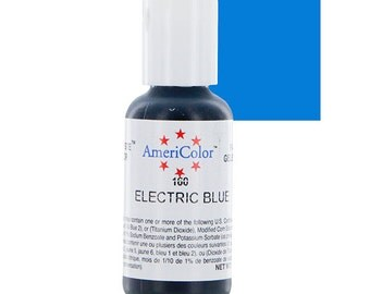Americolor Gel Color .75 oz Electric Blue