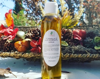 Large 16 Ounce Formula D Hair Growth Serum For Fast Hair Growth Order Today For All Hair Types Big Chop, Teens, Kids, Breakage Fast Acting