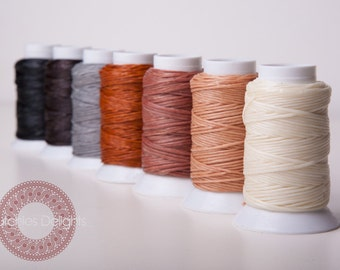 6 x 30meter waxed cotton cord. Discount & combine shipping!