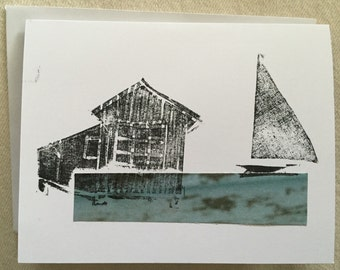 Note Cards --- Cottage
