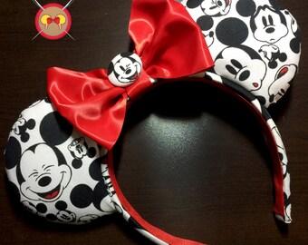 The Many Faces of Mickey Mouse - Mickey Ears Headband